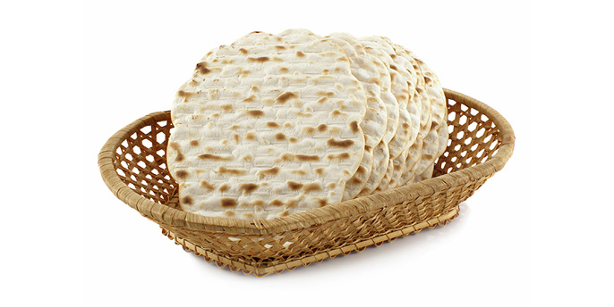 Matzos, Jewish unleavened bread.